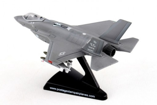 USAF F-35-A Stealth multi-role fighter by Postage Stamp PS5602 Scale 1:144