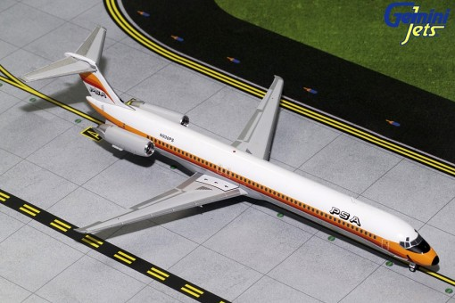 PSA McDonnel Douglas MD-80 N930PS Gemini 200 G2PSA172 scale 1:200
