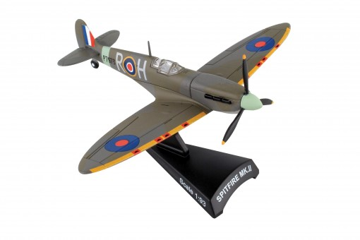 RAF Spirfire MkII die-cast Postage Stamp PS5335-4 Scale 1:93