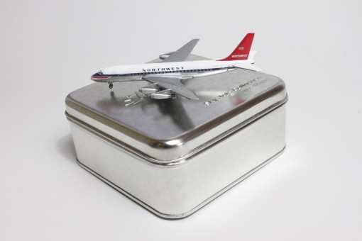 Rare! Sale! National DC-8-50 N875C Gemini Tin box GJNAL286A Scale 1400