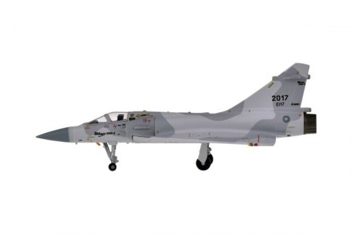 ROCAF Mirage 2000 Tail 2017 China Air Force die-cast Hogan HG60548 scale 1:200