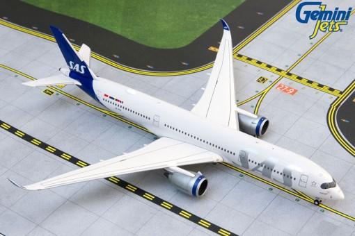 SAS Scandinavian Airbus A350-900 SE-RSA New Livery Gemini Jets GJSAS1912 scale 1:400