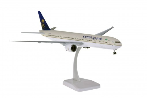 Saudia Boeing 777-300 HZ-AK43 gears & stand Hogan HG11175G scale 1:200