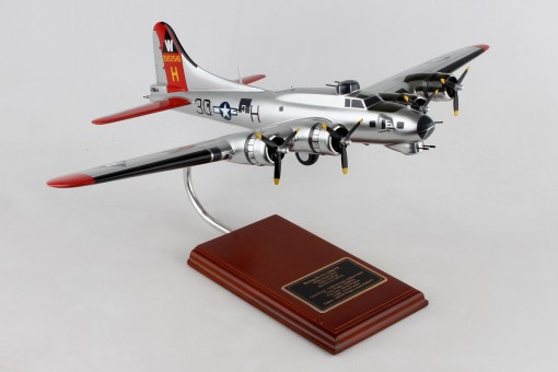 B-17G Flying Fortress crafted Aluminum Overcast Executive Series SE0046W 1:54