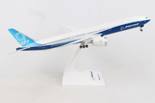 Boeing House Boeing 777-9 flex wingtips gears & stand Skymarks SKR1029 1:200