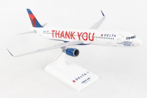 Delta Airbus A321 Thank You Skymarks N391DN SKR1057 scale 1:150