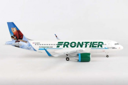 """Frontier A320neo N328FR  """"Scout the Pine Marten""""  Supreme SKR8355 scale 1:100"""