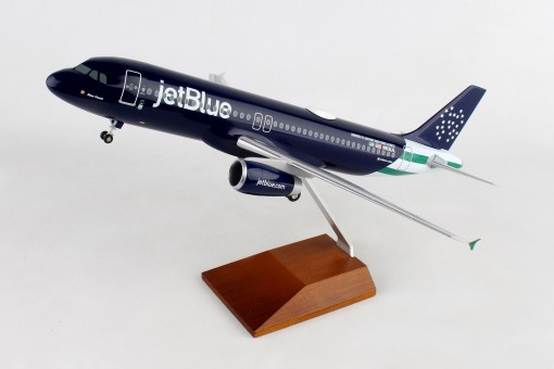 """NYPD JetBlue Airbus A320 """"Blue Finest"""" N53IJL New York Police Dept Skymarks Supreme SKR8367 scale 1:100"""