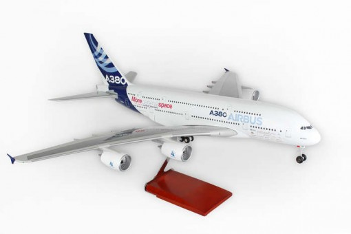 Skymarks Airbus House A380-800 Scale 1:100 W/Gear New Livery SKR8506