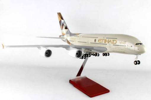1:100 Etihad Airways A380 Stand and Gears Skymarks SKR8507 Scale 1:100