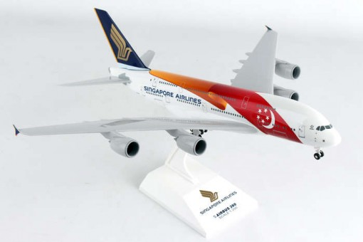 China-Singapore Airbus A380 W/Gear Skymarks SKR931 Scale 1:200