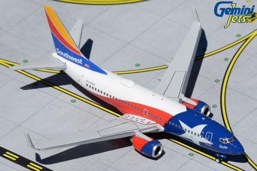 "Southwest Airlines Boeing 737-700 N931WN ""Lone Star One"" Gemini Jets GJSWA2019 scale 1:400"