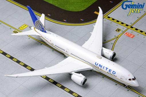 United Airlines Boeing 787-8 Dreamliner N27908 Gemini GJUAL1790 Scale 1:400