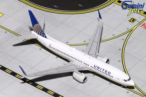 United Boeing 737-800 N14237 Gemini jets GJUAL1796 Scale 1:400