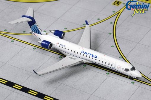 United Express Bombardier CRJ-550 N504GJ Gemini GJUAL1900 scale 1:400