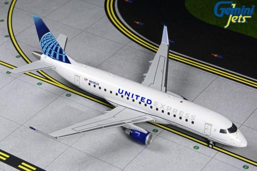 United Express Embraer ERJ-175 N605UX Gemini G2UAL874 scale 1:200