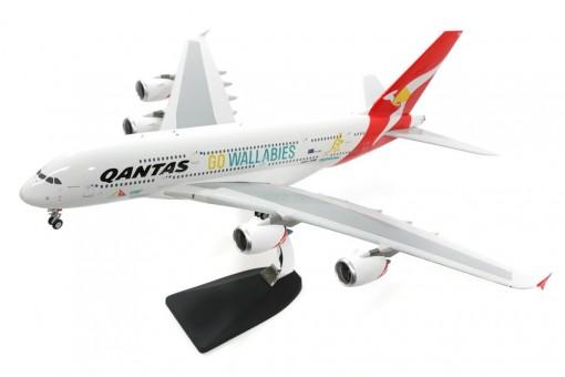 Sale! Qantas Airbus A380 Go Wallabies Reg# VH-OQH Phoenix 100043 Scale 1:200