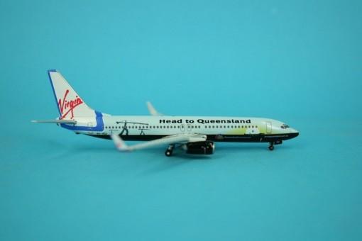 "Virgin Blue Airlines B737-800 ""Head to Queensland"" C/S"