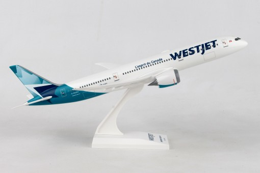 Westjet Boeing 787-9 C-GUDH With Stand Skymarks SKR1002 scale 1:200
