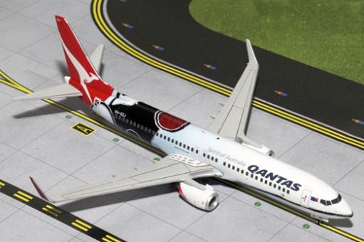 Qantas Airlines Boeing B737-800 Mendoowoorrji Reg# VH-XZJ G2QFA443 Gemini Jets Scale 1:200