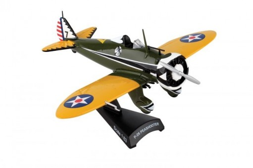 P-26 Peashooter die-cast by Postage Stamp PS5560-2 scale 1:63