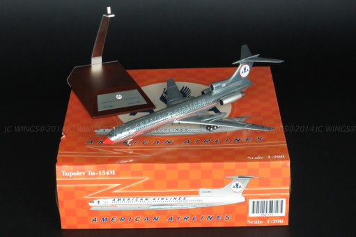 American TU-154 Astrojet polished livery JC2AAL736 JC Wings 1:200