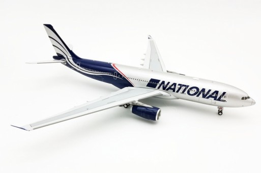 National Airlines Airbus A330-200 N819CA Limited 60 pcs with stand InFlight IF332N80721 scale 1:200