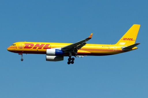 DHL Tupolev Tu-204C RA-64024 die-cast NG Models scale 1:400
