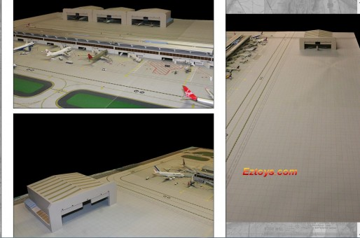 GJAPS005 Airport Mat Expansion Set 1:400 scale one side and 1:200 scale the other side GJAPS005