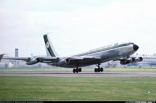 Aeroclassics ACHZACC Saudi Arabian Airlines B707-320 HZ-ACC Diecast 1//400 Model