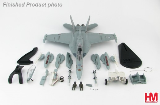 "EA-18G Growler ""Shadowhawks"" US Navy USS Ronald Reagan Atsugi AB 2017 Hobby Master HA5150 scale 1:72"