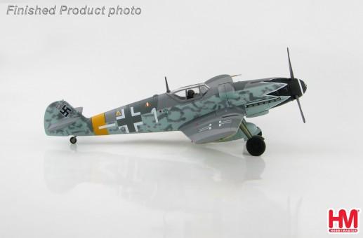 *Bf 109G-6 Erich Hartmann 4./JG 52 Hungary 1944 WWII Hobby Master HA8750 scale 1:48