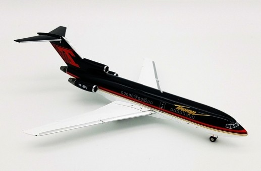 Trump Boeing 727-100 VP-BDJ with stand B-721-T02 Inflight200/B-Models scale 1:200