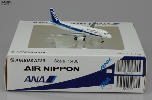 Air Nippon ANK A320 Reg# JA8387  Scale 1:400