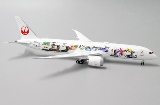 """JAL Japan Airlines Boeing 787-9 Dreamliner """"JAL- Hawaii"""" JA873J JC Wings EW4789006 scale 1:400"""