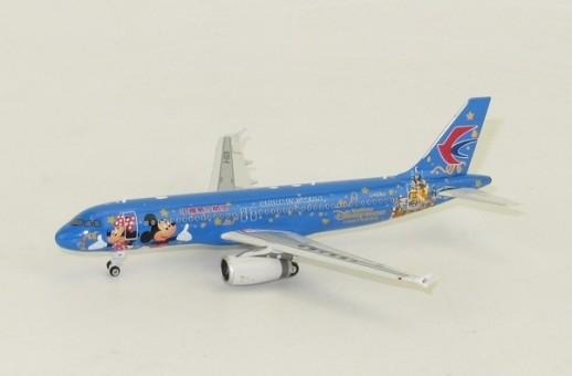 China Eastern Disney Air Airbus A320 B-6635 Phoenix 04095 Scale 1-400