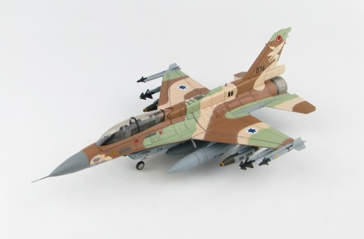 """Israel Air Force IAF F-16D Barak 074 109 Squadron """"UAV Killer"""" HA3873 scale 1:72"""
