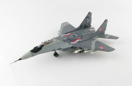 "MIG-29 Fulcrum A Polish Air Force ""100th Anniversary"" Mikoyan Mig-29 Микоян МиГ-29 Hobby Master HA6502 scale 1:72"