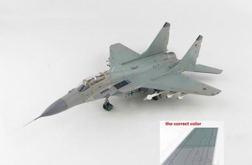 """MIG-29A Fulcrum JG 73 """"Steinhoff"""" German Air Force 1994 Mikoyan Mig-29 Микоян МиГ-29 Hobby Master HA6503 scale 1:72"""