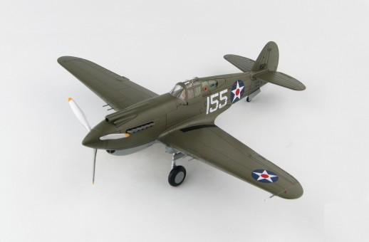 P-40B Warhawk White 155 47th PS 15th PG Wheeler Field Hawaii Dec 7 1941 HA9202 Scale 1:48
