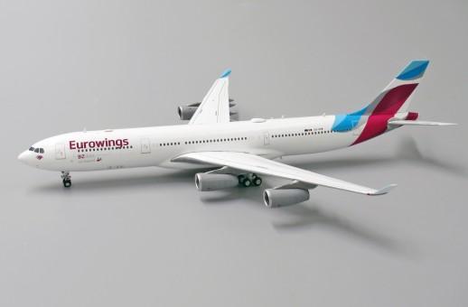 Eurowings Airbus A340-300 Reg OO-SCW JC Wings JC4EWG423 scale 1:400