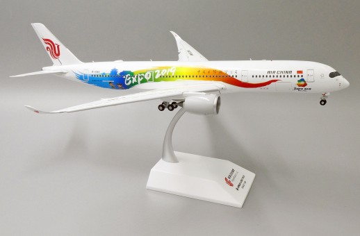 Flaps down Air China A350-900 B-1083 Beijing Expo 2019 JC Wings JC2CCA084A XX2084A scale 1:200