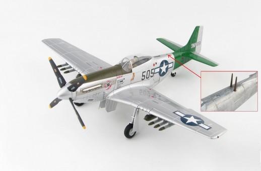 P-51D Mustang Capt Abner M Aust Jr 457th FS 506th FG 7th AF 1945 Hobby Master HA7743b 1:48