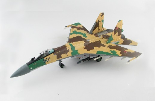 Su-35 Flanker Russian Air Force, MAKS-2007 Airshow Hobby Master HA5706 scale 1:72
