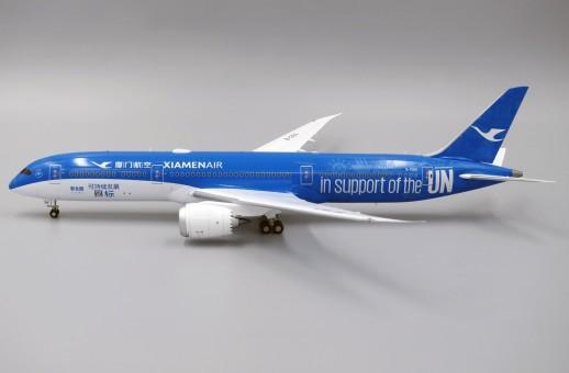 Xiamen Air Boeing 787-9 Dreamliner B-1356 UN Goal livery JC Wings JC2CXA033 scale 1:200