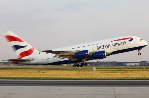 British Airways Airbus A380 Reg G-XLEA Hogan Wings HG40007 Scale 1:400