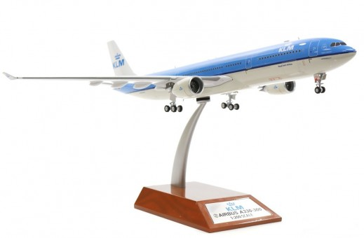 "KLM Airbus A330-300 PH-AKF PH-AKF ""95 Years"" With Stand IF333KLM001 InFlight Scale 1:200"