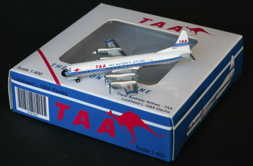 TAA Trans Australian Lockheed L188 Electra VH-TLC JC Wings JC4302 scale 1:400