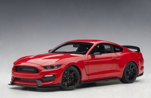 Race Red Shelby Mustang GT-350R AUTOart 72935 Scale 1:18