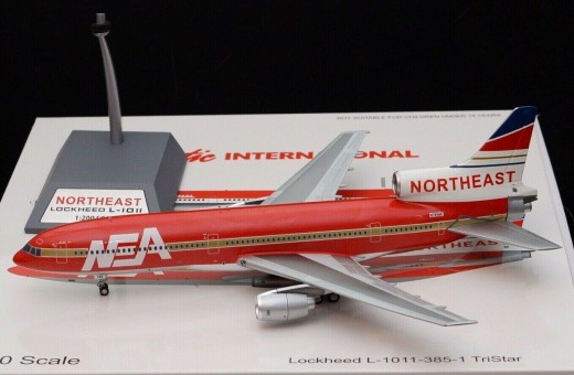 Northeast (Die hard 2 Movie) Lockheed L-1011 With Stand N765BE Inflight B-1011-DH01